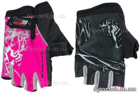 Рукавички велосипедні дитячі (BG08 Scoyco) з повним захистом долоні і кисті без пальців