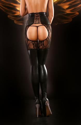 Чулки с поясом Dominatrix stockings - Lolitta