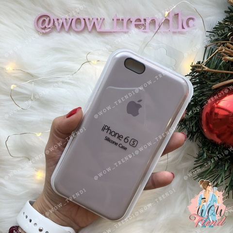 Чехол iPhone 6/6s Silicone Case /lavender/ лаванда 1:1