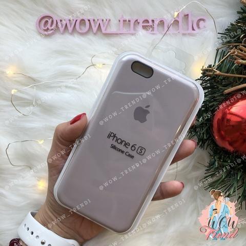 Чехол iPhone 6/6s Silicone Case /lavender/ лаванда 1:1