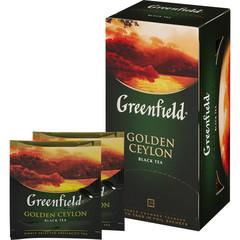 Чай Greenfield Golden Ceylon черный 25 пакетиков