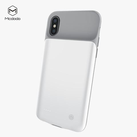 McDodo / Чехол аккумулятор АКБ MC-5190 iPhone X   3200 mAh белый