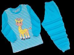 39D-3 пижама детская, серо-бирюзовая