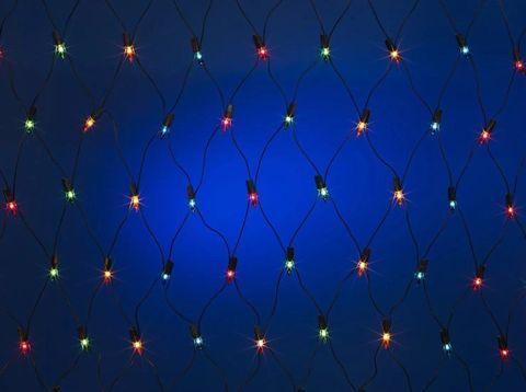 Гирлянда сетка LED Размер 180*180 Разноцветная