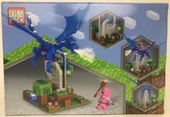 Майнкрафт 63071 Синий дракон 270 дет Конструктор