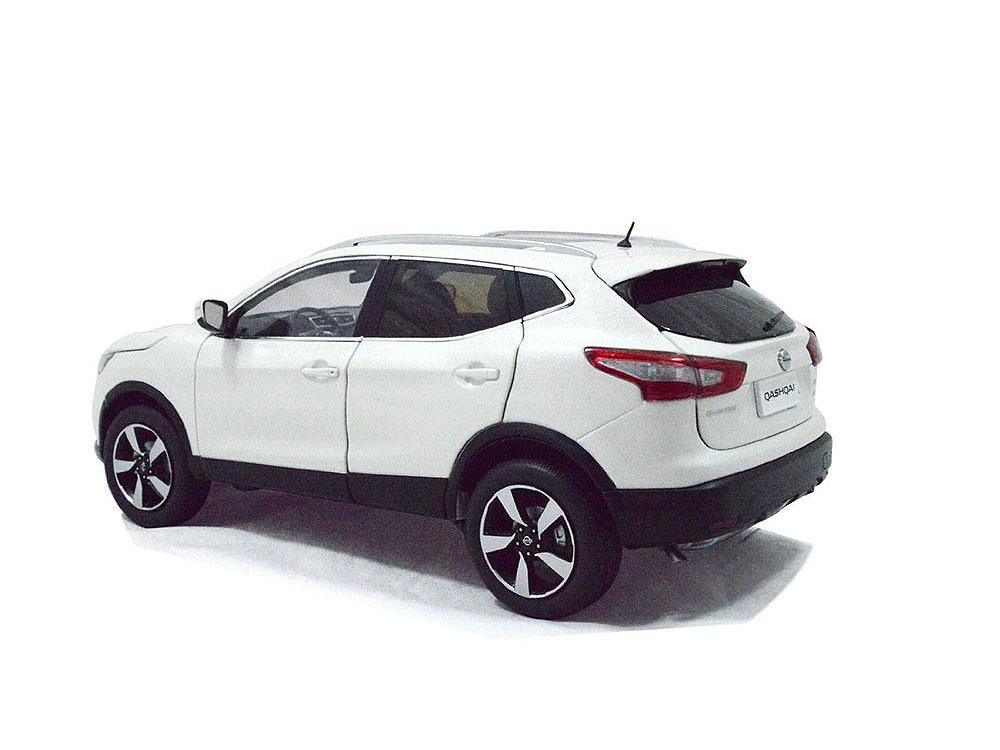 Коллекционная модель Nissan Qashqai 2015