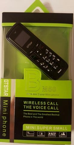GTStar BM50 - мини мобильный телефон, Bluetooth гарнитура