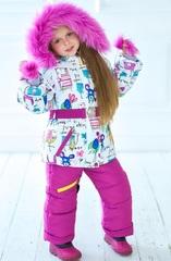 Зимний комбинезон-костюм Leeloo фуксия