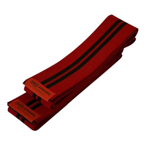 купить коленные бинты sbd красные тренировочные 2 м