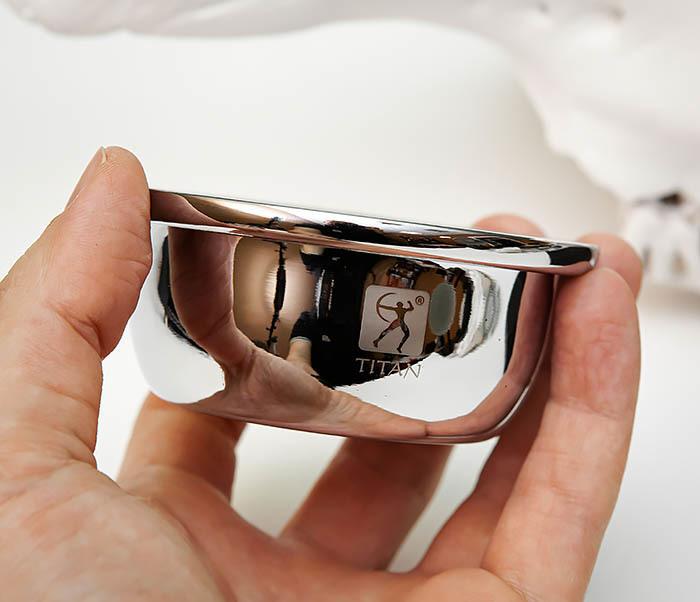 RAZ489 Стальная чаша «TITAN» для взбивания пены фото 04