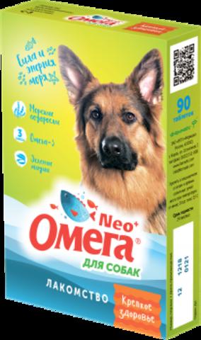 Омега Neo+ для собак с морскими водорослями 90 таб.
