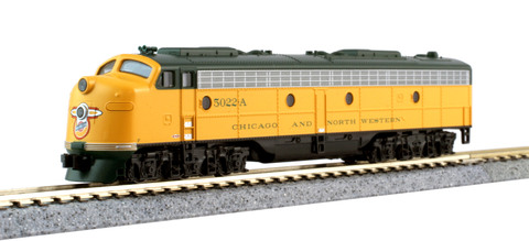 Модель поезда Kato CNW 400