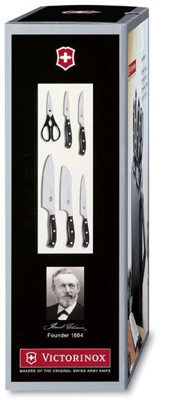 Набор Victorinox кухонный, 6 предметов, в подставке