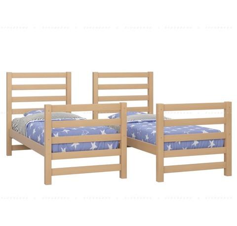 Двухъярусная кровать в разделенном варианте