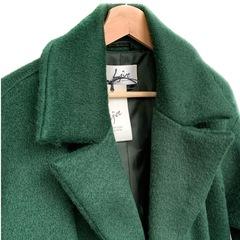 Пальто на пуговицах (Изумрудный)