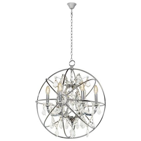 Подвесная люстра Loft it Foucaults orb crystal LOFT1896/6