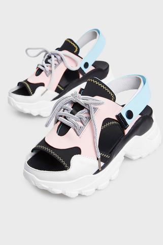 Женские розовые сандалии PRPY