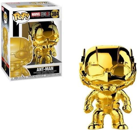 Фигурка Funko POP! Marvel Studios 10: Ant-Man (Chrome Gold)