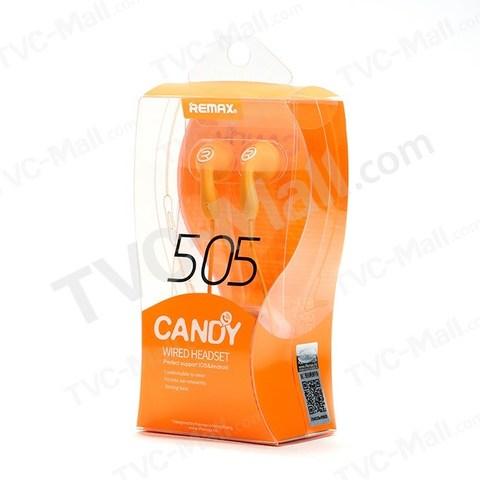 Гарнитура Remax Candy 505 угловой jack orange