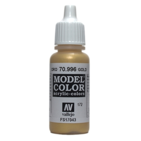 Model Color Gold 17 ml.