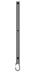 Полотенцесушитель электрический 180 чёрный матовый Сунержа Нюанс 31-0543-1853 фото