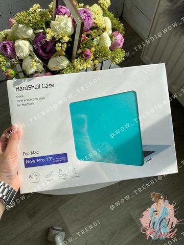Накладка пластик MacBook Pro Retina 13.3 (2020) /matte sea blue/ DDC
