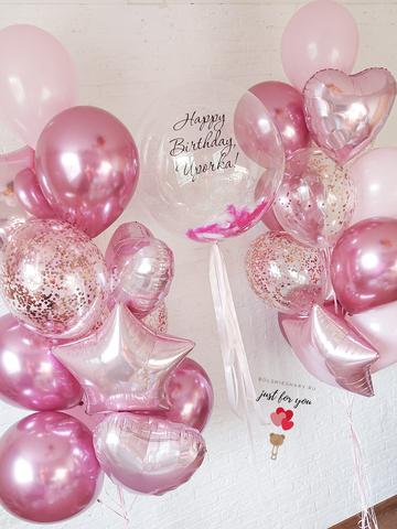 Заказать воздушные шары девушке