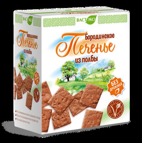 Печенье из полбы Бородинское, 170 гр. (ВАСТЭКО)