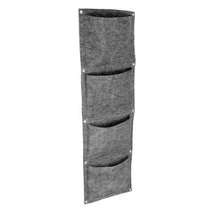 Вертикальная грядка, 4 кармана, 30х100 см