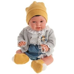 Munecas Antonio Juan Кукла Елена в желтом, 40 см (3305)