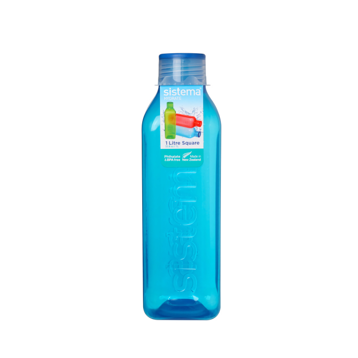 "Бутылка для воды Sistema ""Hydrate"" 1л, цвет Синий"