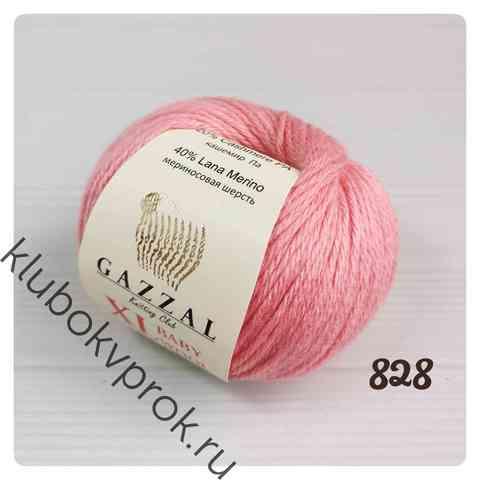 GAZZAL BABY WOOL XL 828, Розовый