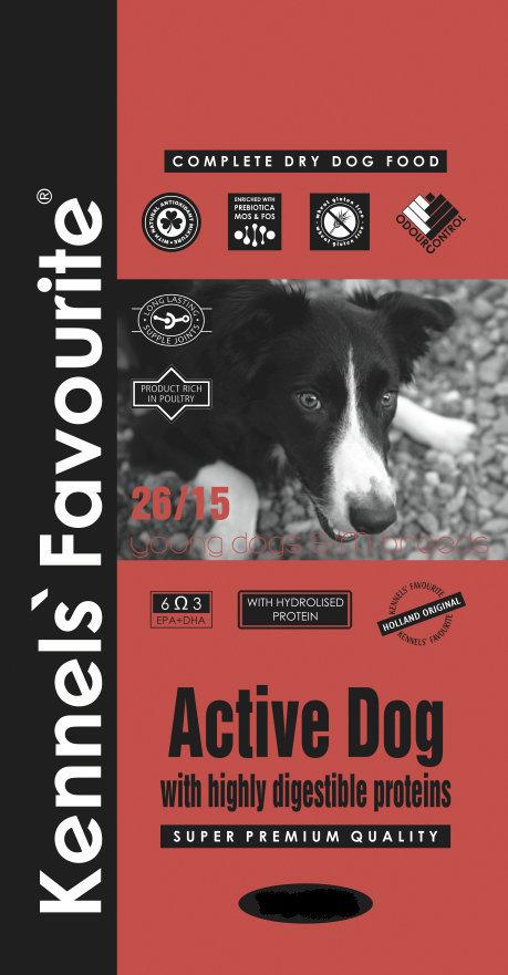 Сухой корм Корм для молодых собак Kennel's Favorite Active Dog 171.970.jpg