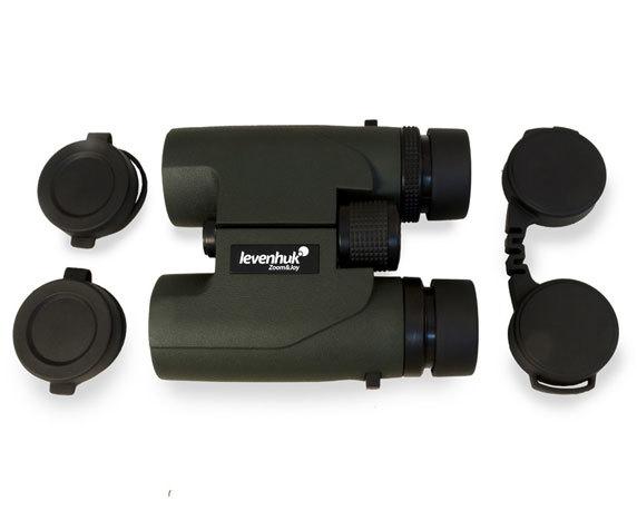 Защитные крышки бинокля Levenhuk Karma Pro 10x 32