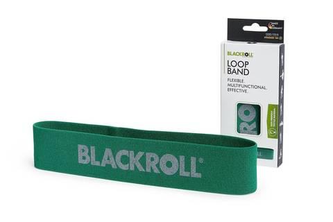 Мини-эспандер текстильный BLACKROLL® LOOP BAND 30 см (среднее сопротивление)