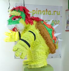 пиньята дракон из игры Марио -  Боузер - мир-пиньята