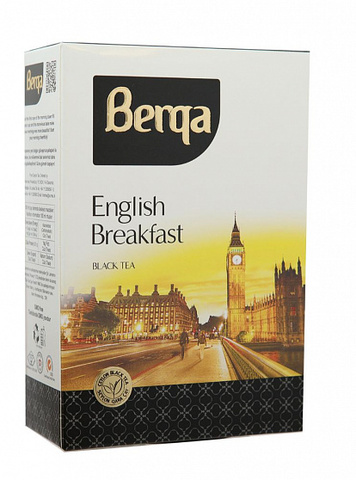 Çay \ Чай \ Tea Berqa Breakfast qara çay 225 q
