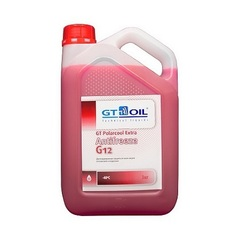 Антифриз GT Oil POLARCOOL EXTRA G12 - 3кг   4665300010225
