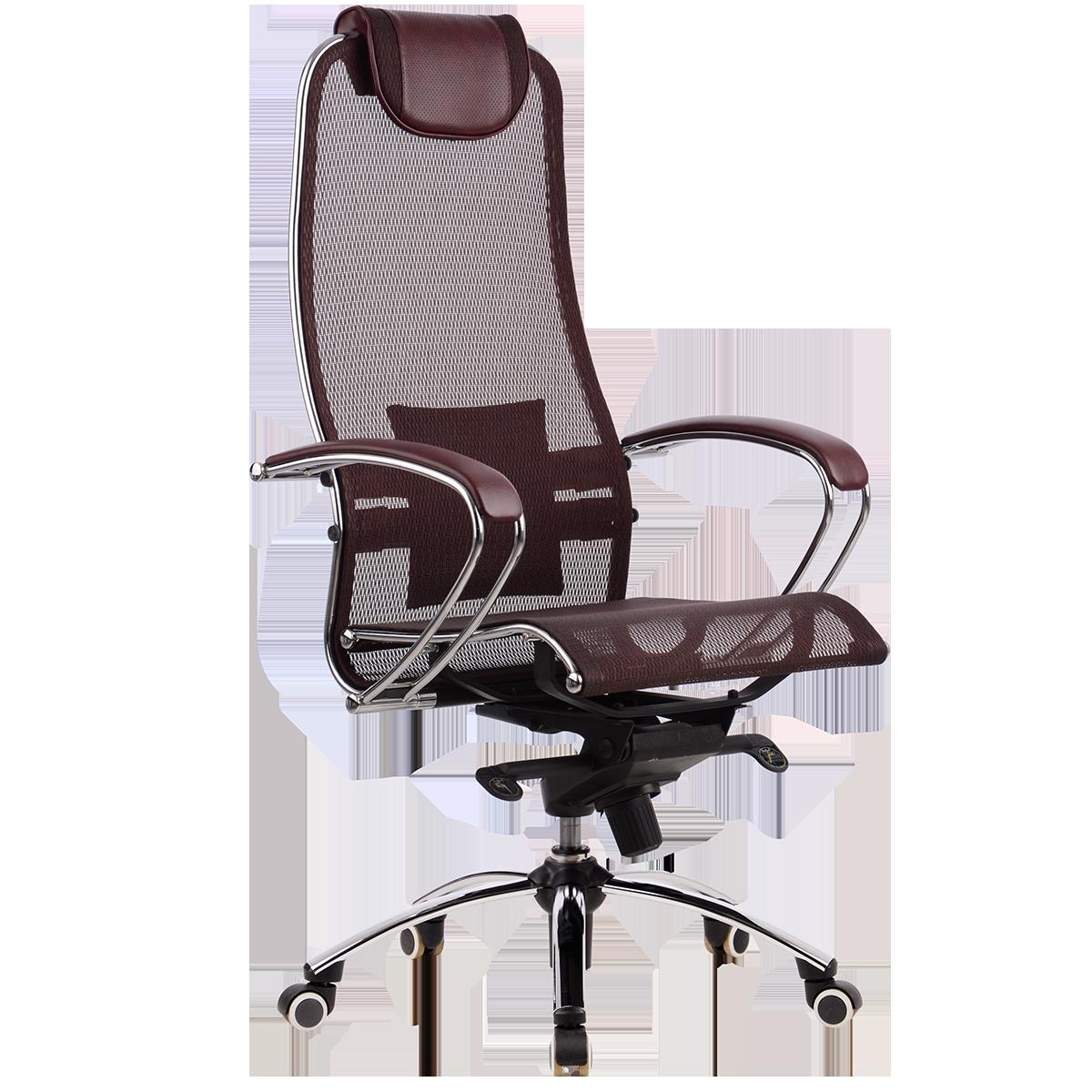 Кресло Samurai S-1 бордо