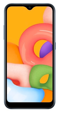 Смартфон Samsung Galaxy A01 2/16Gb Синий