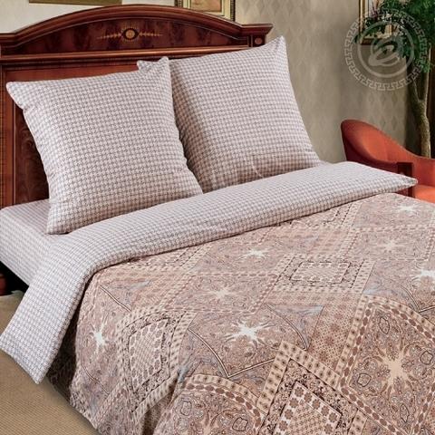 Комплект постельного белья Италия DE LUXE с простынью на резинке