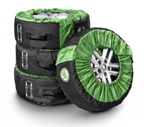 Комплект чехлов для хранения колес Skoda