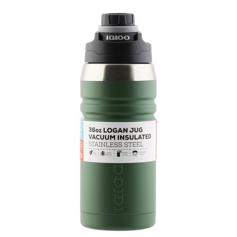 Термос Igloo Logan 36 (1 литр), зеленый