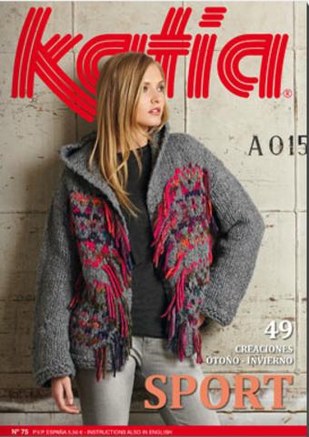 Журнал Woman 75 Sport Katia