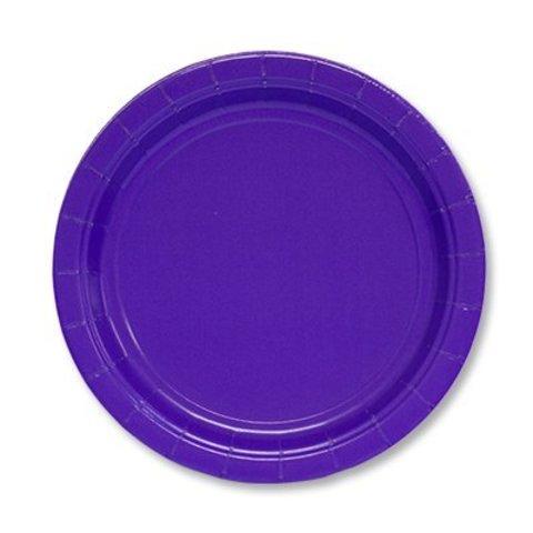 Тарелка Purple 17см 8шт/A