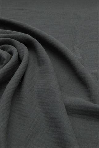 Ткань муслиновая,графит