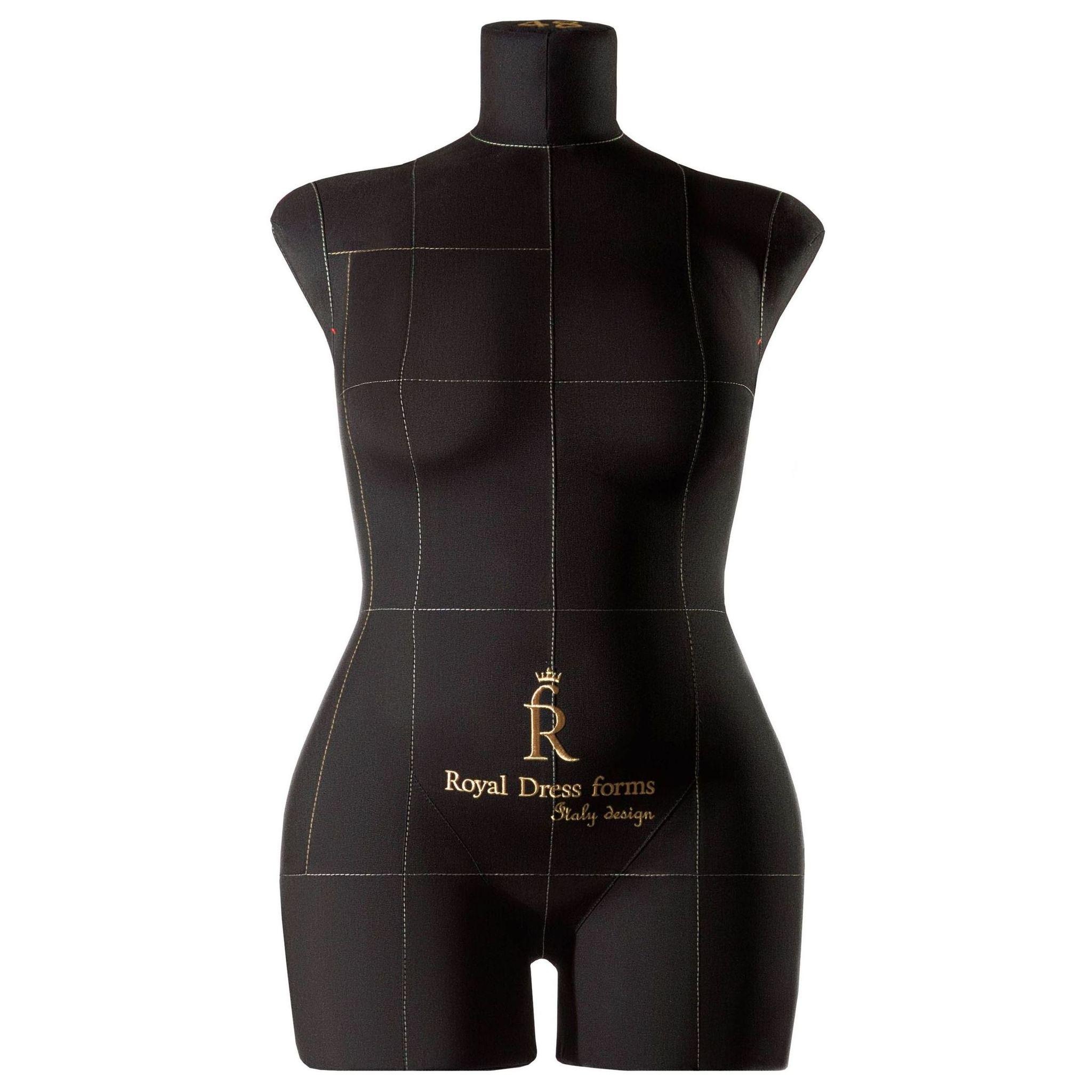 Манекен портновский Моника, комплект Премиум, размер 48, ЧерныйФото 1
