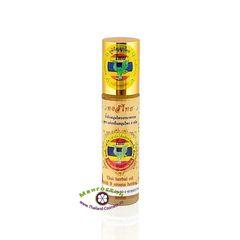 Желтое масло-ингалятор на основе эфирных масел 9 трав, Hong Thai
