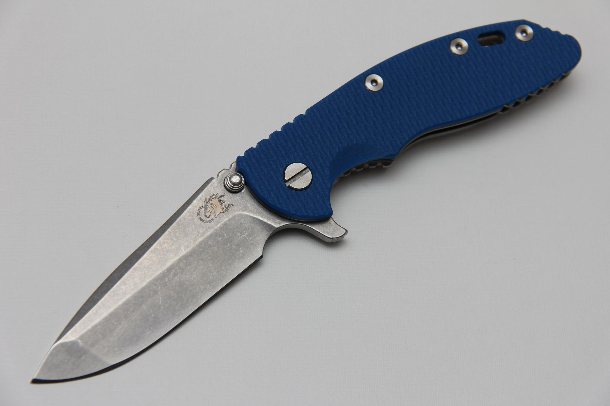 Нож Hinderer XM-18 3.5″ / Spanto Grind / Flipper