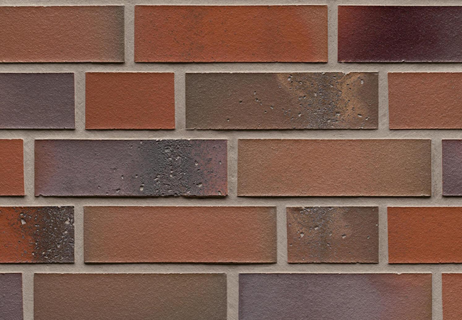 Feldhaus Klinker - R580NF14, Salina Carmesi Colori, 240x14x71 - Клинкерная плитка для фасада и внутренней отделки
